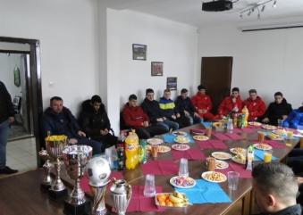 Druženje sa članovima pionirske U-15 selekcije