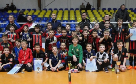 """FK Sloboda pobjednik """"Zimske lige NS TK"""" za godište 2009/2010"""