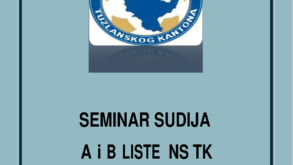 Seminar sudija A i B liste NSTK