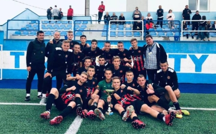 FK SLOBODA pobjenik Kupa NS TK za juniore