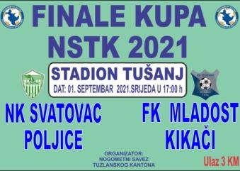 Finale KUPA Nogometnog saveze TK-a za 2021.godinu
